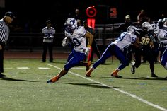 Pioneer RB Ethan Stanton gains some of his 92 yards in a 37-22 win over Leland Friday night.