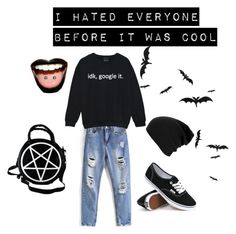 """""""untitled #2"""" by mikainmybedkgo on Polyvore featuring Vans"""