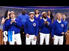 Chicago Cubs Stars And Bill Murray Make A Real Song And Dance On 'SNL'   The Huffington Post