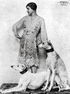 Tänzerin Ossy Rondyer, 1928.