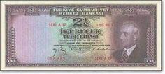 iki buçuk türk lirası kağıt para resimleri Turkish Lira, Republic Of Turkey, A 17, Money, Banknote, Coins, Times, Silver, Rooms