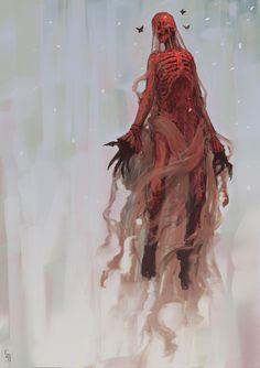 Crimson Peak by EdwardDelandreArt.deviantart.com on @DeviantArt