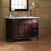 "Found it at Wayfair - Xylem Glenayre 48"" Bathroom Vanity Cabinet Set"