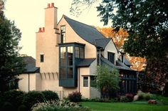 Cottage style with a few twists. Culligan Abraham Architecture.