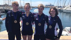 Great Britain win Mixed 5km Relay bronze at Euro Junior Open Water