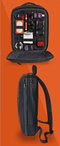 Compre Cool Men Mochilas Homem Mochila De 14 Polegada Estudante Laptop Mochilas Meninos De Viagem PU Mochila De Couro Sacos Adolescentes Retro Saco De