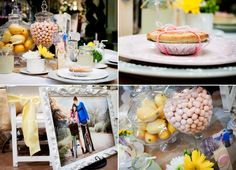 County Chic wedding details