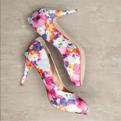 Madden girl floral pumps FOR SALE ONLY UNTIL VALENTINES DAY (FEB 14 2016) THEN I AM UNLISTING!!! Great statement piece! Brand new with tags never worn perfect for spring and summer!!! Only on sale for a limited time and then they're gone get your hands on them they are sold out everywhere! Madden Girl Shoes Heels