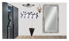 """Spring hallway"" by tatiana-petushkova on Polyvore featuring interior, interiors, interior design, дом, home decor, interior decorating, Fine Art Lamps, Rogue Decor и Basset Mirror Company"