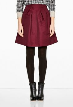 Woven Party Skirt by McQ Alexander McQueen
