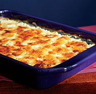 Three-Cheese Potato Gratin