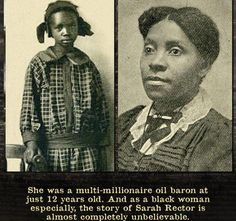 Meet Sarah Rector, the Who Became The Richest Black Girl in America in 1913 - Black Enterprise Uncover the fascinating and mysterious story of Sarah Rector, who was once deemed the richest black girl in America at the age of History Memes, History Books, Family History, African American Leaders, African Americans, Black Enterprise, Black History Facts, Strange History, Black History Inventors