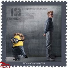 The Hunger Games Mockingjay Minions ~ Finnick