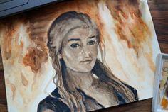 #Daenerys in Fire  #gameofthron #kalesi https://www.facebook.com/zurkaart/