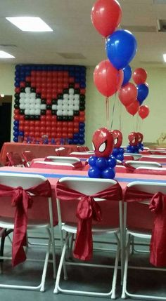 Spiderman Birthday Party Ideas | Photo 1 of 9