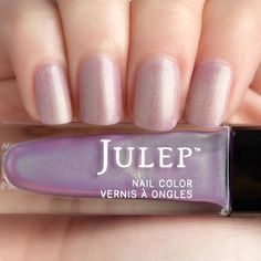 Julep - Eve - Classic with a Twist - Iridescent Lilac Matte Shimmer
