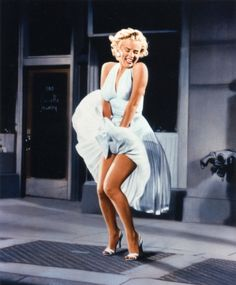 Marilyn Monroe s infamous dress from the seven year itch.