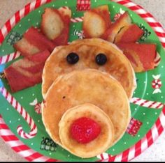 Breakfast #party win! #rudolph #christmas