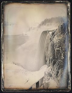Niagara Falls from the Canadian Side: ca. 1850