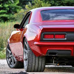 'Fused' 1968 Camaro by @roadstershop...