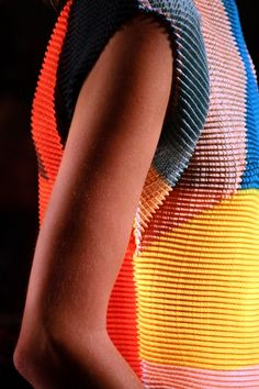fashion and color Textiles, Textile Patterns, Textile Design, Fashion Patterns, Fashion Mode, Fashion Art, Urban Fashion, Japanese Fashion Designers, Textile Texture