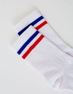 Striped sports socks - Tights & Socks - Accessories - Woman - PULL&BEAR United Kingdom