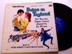 Babes in Toyland Disney LP - 1961 vintage original cast Gatefold vinyl record by VinylRocket #TrendingEtsy