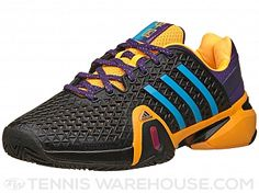 adidas Barricade 8+ Shanghai Gold/Bl/Purple Men's Shoe - This special edition features a special cosmetic commemorating the Asian ATP Tour swing. #tennis #atp