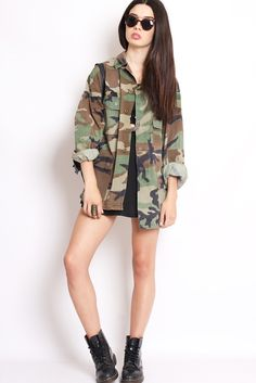 Lovely camo jacket photo