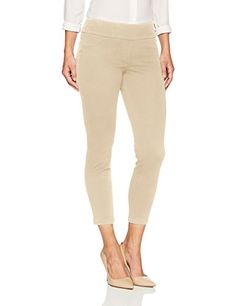 Womens Fly Front Stretch Ponte Legging Pant Pants Ruby Rd