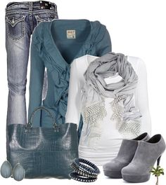"""""""Love that Cardigan"""" by cindycook10 on Polyvore"""