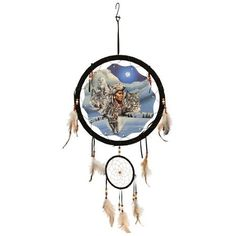 Moonlight Warrior 13 inch dream catcher - Back to Earth Collection