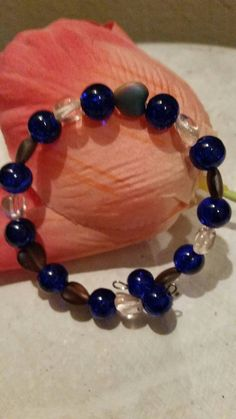 Check out this item in my Etsy shop https://www.etsy.com/listing/267976966/hearts-of-glass-and-blues-beaded-memory
