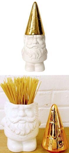 Gnome Container <3 SO cUte! #spaghetti #cookie #jar