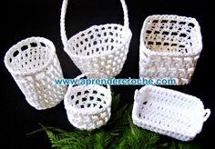 aprender croche mini croche cestos cestas endurecido decoração tv cinema dvd video-aulas loja curso de croche edinir-croche