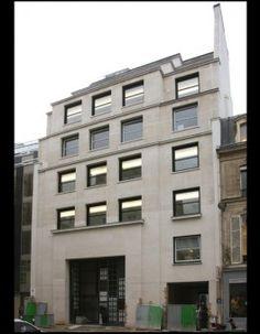 Bureaux (1929) 27-29, rue d'Astorg Paris 75008. Architecte Louis Faure-Dujarric