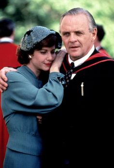Debra Winger as Joy Gresham and Anthony Hopkins as C.Lewis in 'Shadowlands'. Debra received an Academy Award nomination for best actress. Produced by Richard Attenborough. Debra Winger, David Lean, Richard Attenborough, Sir Anthony Hopkins, Image Film, Literature Books, Cs Lewis, First Daughter, We The People