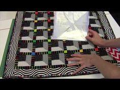 Attic Window Quilt Blocks with No Y Seams - YouTube