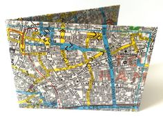 London Map Oyster Card Holder