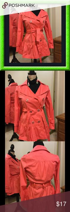 Adorable Candies jacket NWOT. Lightweight, unlined, cotton. Pictures say the rest!! 💥 Candie's Jackets & Coats
