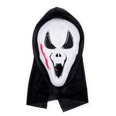 Halloween Horror Skull Ghost Mask for Masquerade Cosplay - White Centipede