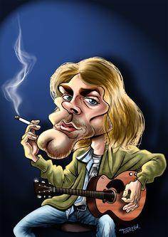 Kurt Cobain by danieltorazza on deviantART