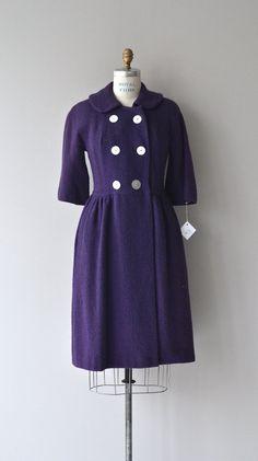 Vintage 1960's Wool Petula Coat