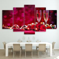 Click the BUY IT NOW Button! Fast and Secure Free Worldwide Shipping! Exceptionally designed with love and care! Our premium quality framed canvases Canvas Picture Walls, Canvas Pictures, Canvas Art Prints, Canvas Wall Art, Wine Wall Art, Types Of Art Styles, Wine And Canvas, Love Wall, Romantic Dinners