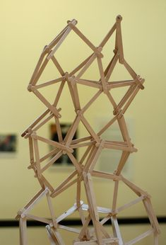 Popsicle Stick Architecture | The popsicle stick creations o… | Flickr