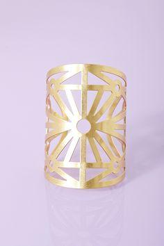 Starburst Cuff - Gold