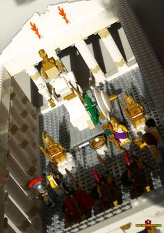 LEGO Parthenon - Ancient Greek Temple of Athena - Saber-Scorpion's Lair - Personal Website of Justin R. Stebbins