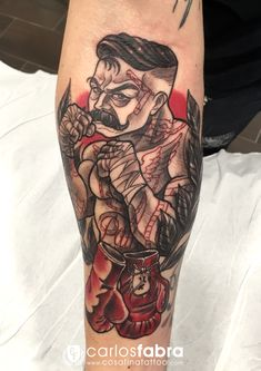 tatuaje-boxeador-guantes-boxeo-neotradicional-neo-tradicional-neotradi-neotraditional-traditional-tattoo-boxing-gloves-cosafina-cosa-fina-carlos-fabra-tatuador-barcelona-espa.jpg (1240×1754)