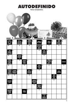 autodefinidos pasatiempos.pdf Galletas Cookies, Emilio, National Parks, Reading, Ideas, Printable Word Search Puzzles, Preschool Alphabet Activities, Stubborn Belly Fat, Decks