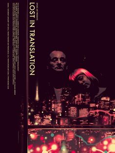 Lost in Translation - movie poster - Matt Taylor